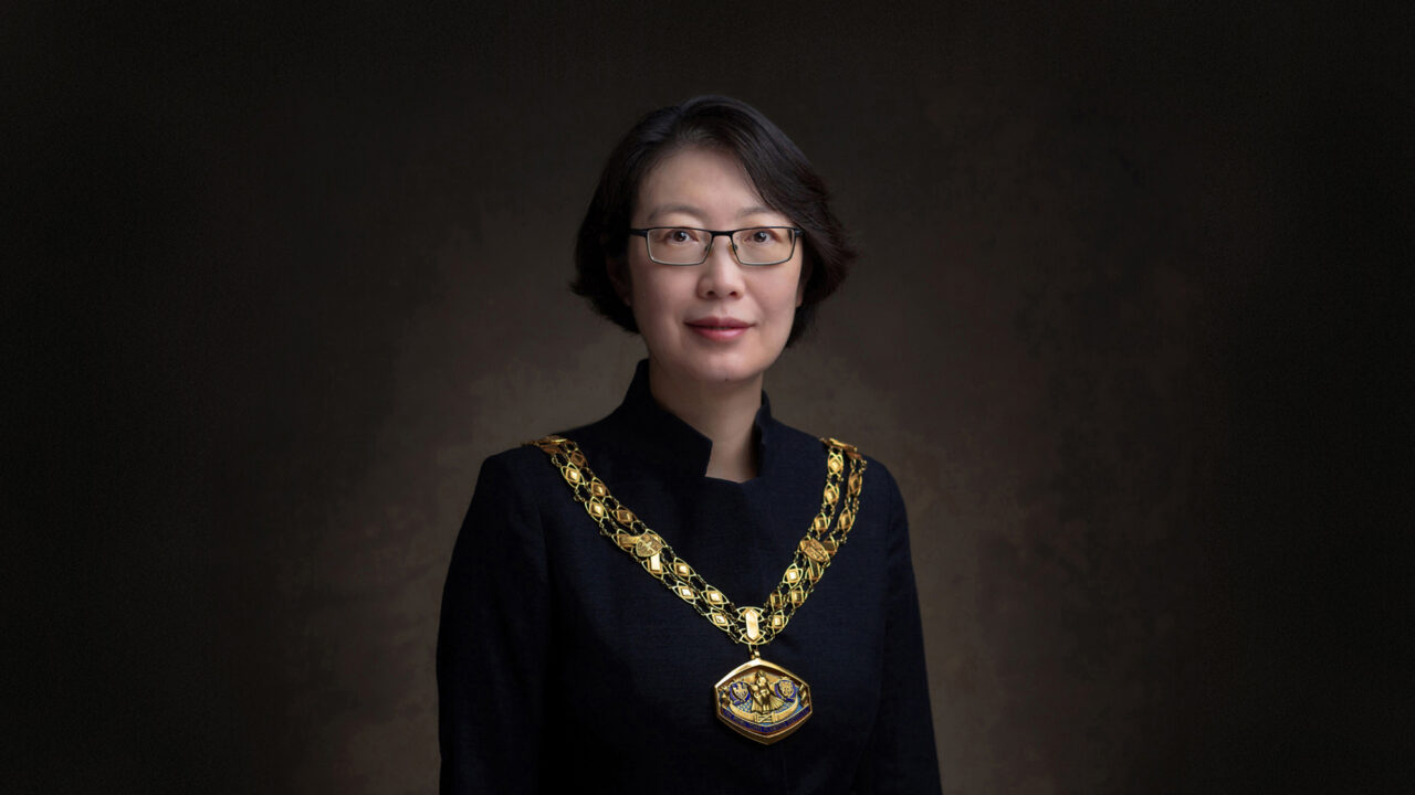 Dr Wei Yang is inaugurated as the President of the Royal Town Planning Institute