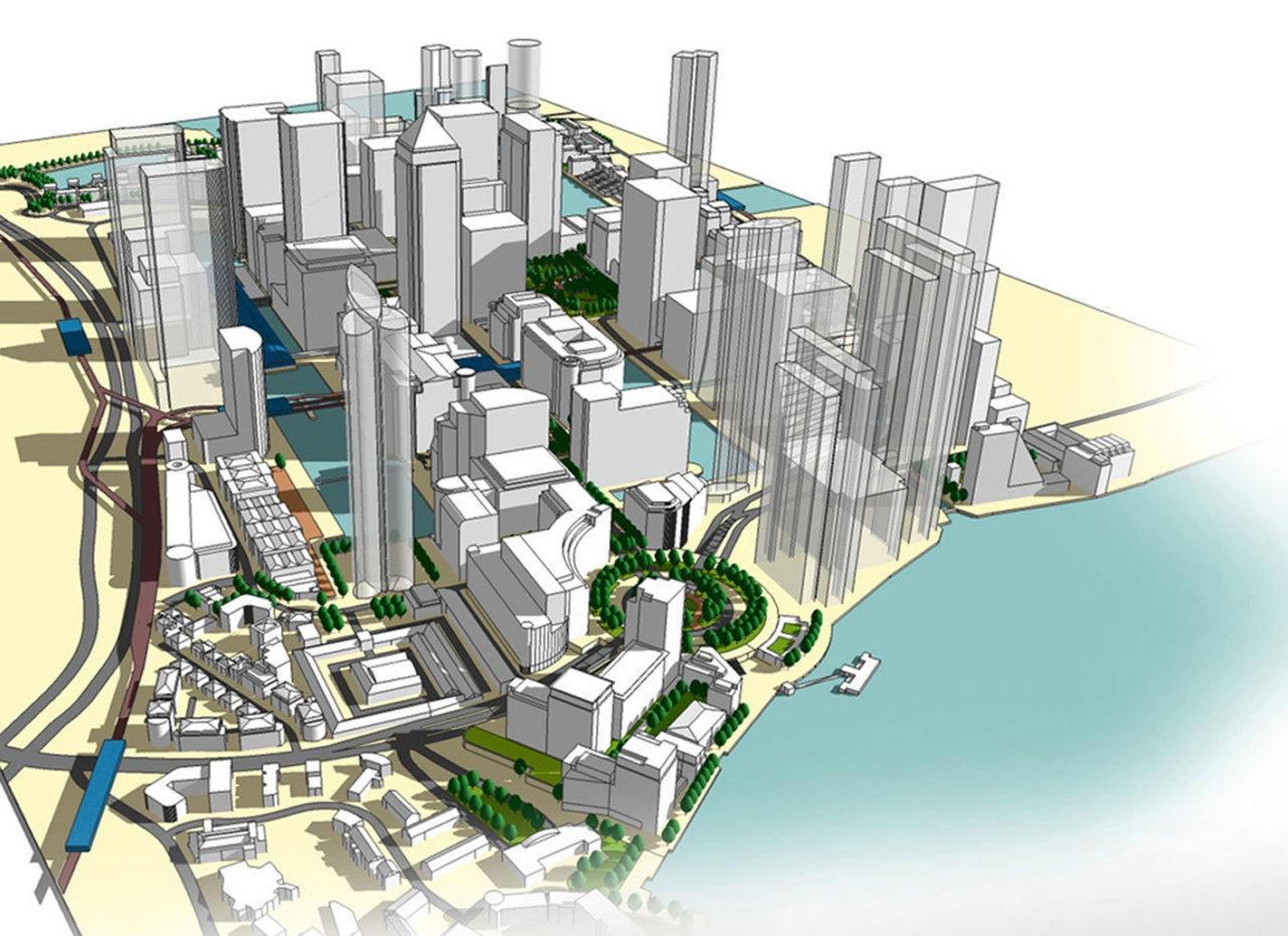 Canary Wharf Spatial Study image