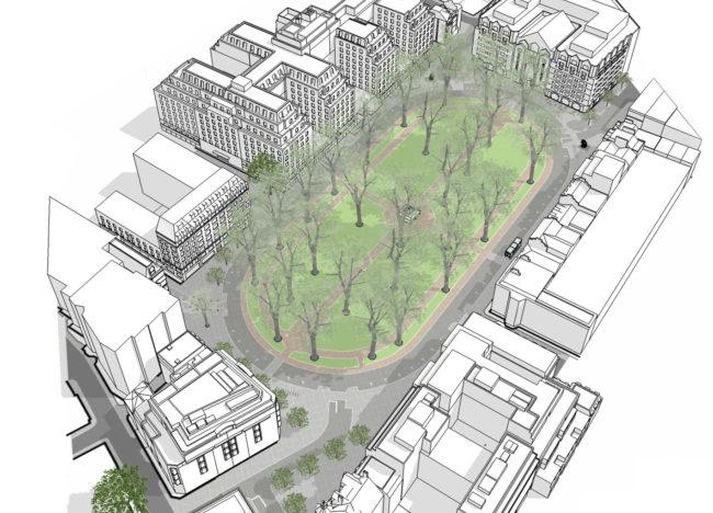 Image of Berkeley Square Public Realm