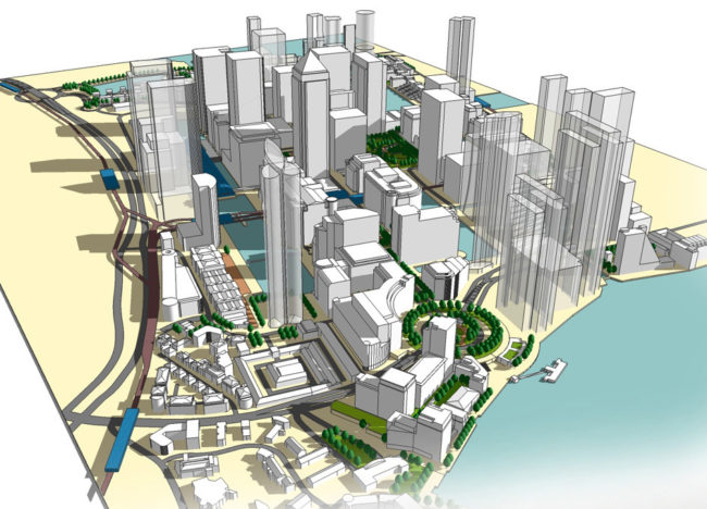 Image of Canary Wharf Spatial Study