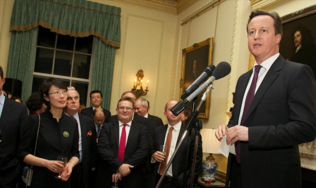 Image of Dr Wei Yang was invited to 10 Downing Street by the UK Prime Minister to attend the UK government's Chinese New Year Reception