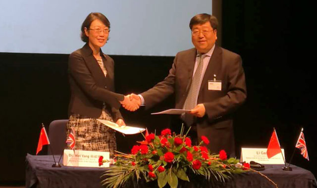 Image of Wei Yang & Partners signed a major framework agreement with Xuzhou at UK-China Regional Business Summit in Birmingham