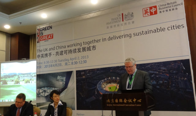 Image of Dr Wei Yang was elected as the Co-Chair of the UK-China Eco-cities and Green Building Group