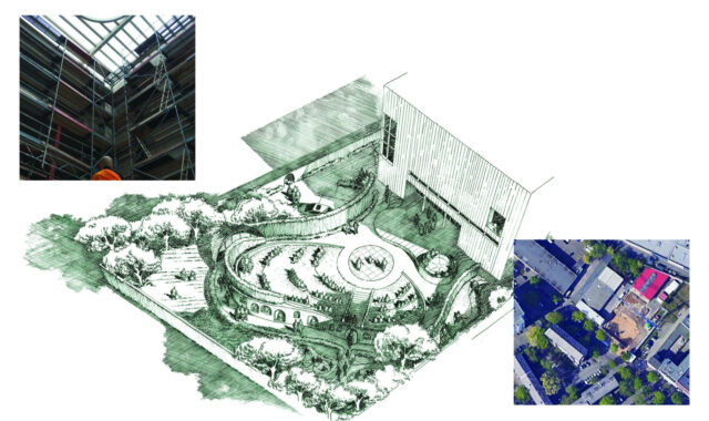 Image of WYP's Garden of Cloud and Water project in Berlin reaches a key milestone