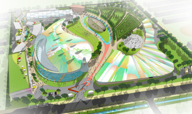 Image of Wei Yang and Partners design a future generation of farm park complex in Beijing