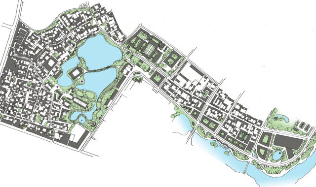 Image of WYP provides master plan for revitalisation of a historic town
