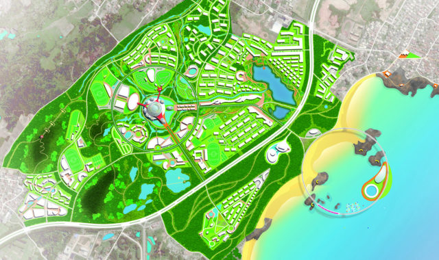 Image of WYP's new Sports Town master plan