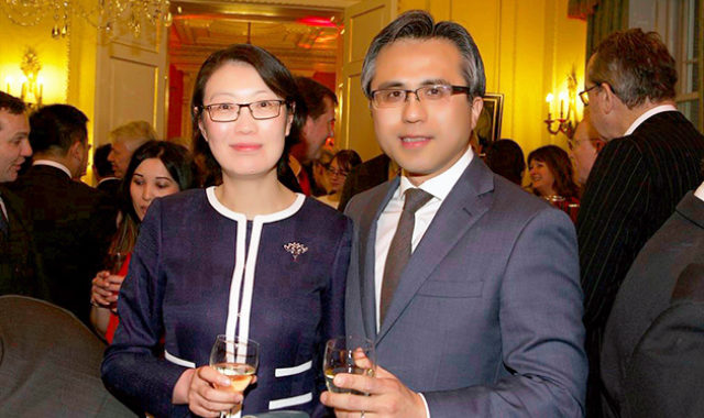 Image of Wei Yang & Partners attended reception at 10 Downing Street hosted by the Prime Minister