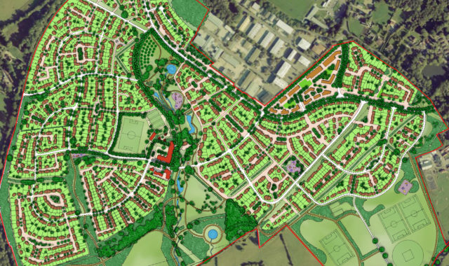 Image of Wei Yang & Partners' Hogwood Garden Village Master Plan Approved by Wokingham Borough Council