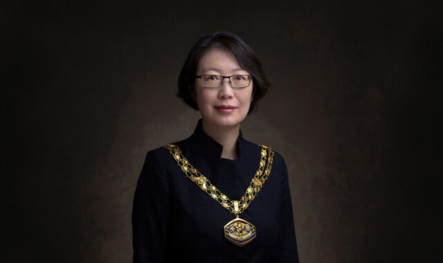Image of Dr Wei Yang is inaugurated as the President of the Royal Town Planning Institute